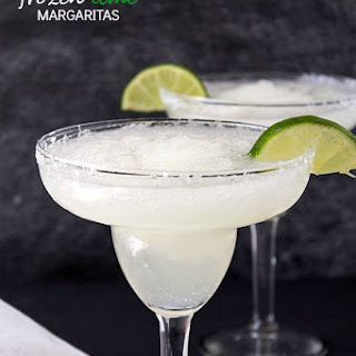 Frozen Lime Margaritas