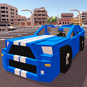Blocky Car Racer icon