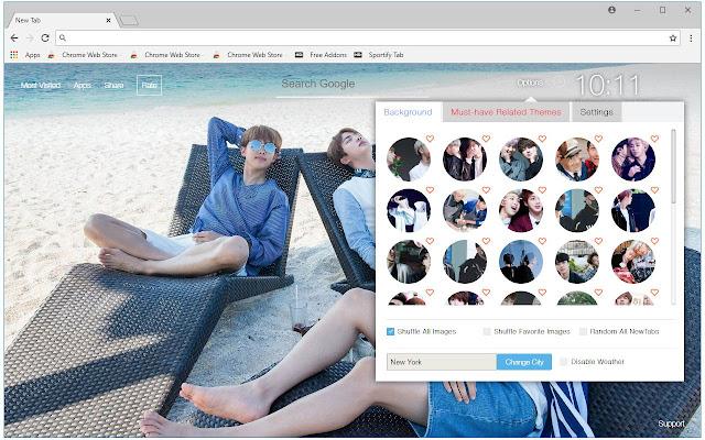 RM & Jin BTS HD Wallpapers NamJin New Tab | HD Wallpapers & Backgrounds