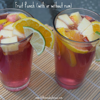 Fruit Punch (with or without rum)