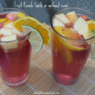Fruit Punch (with or without rum).