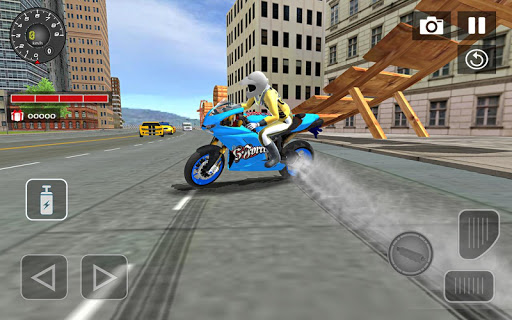 Sports bike simulator Drift 3D apkpoly screenshots 5