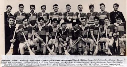 Photo: Under 21 Hurling Team 1965