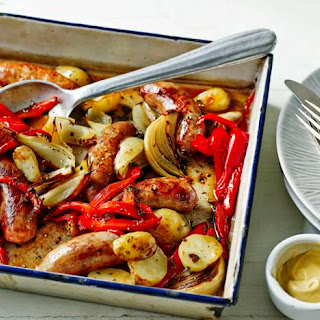 Roasted Sausage and Potato Supper Recipe