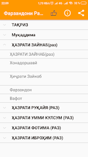 Фарзандони Расули Акрам (с) for PC-Windows 7,8,10 and Mac apk screenshot 1