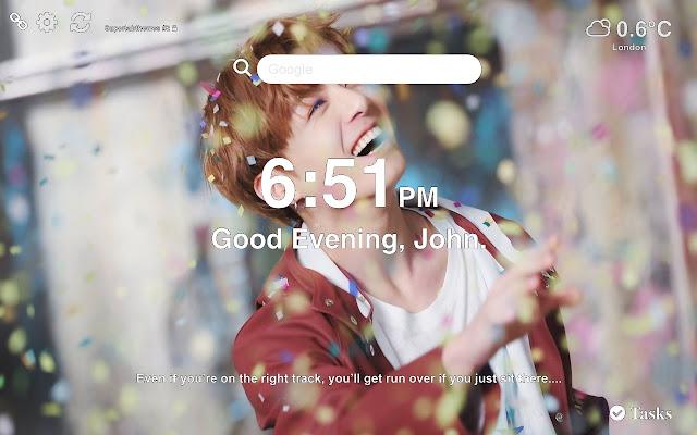 Jungkook BTS HD Wallpapers and New Tab