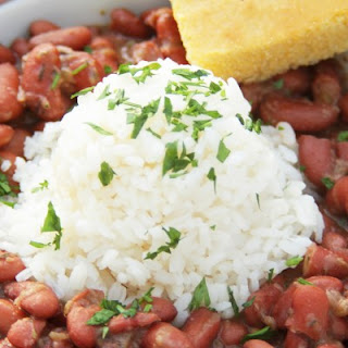 New Orleans-Style Red Beans & Rice.