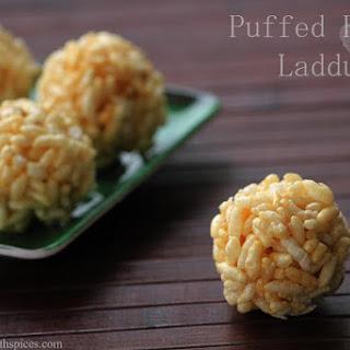 Borugula Unda - Maramarala Ladoo - Pori Urundai Recipe - How to make Puffed Rice Laddu - Step by Step Recipe - Krihshna Jayanthi Recipes