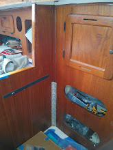 Photo: Original port aft aluminum angle