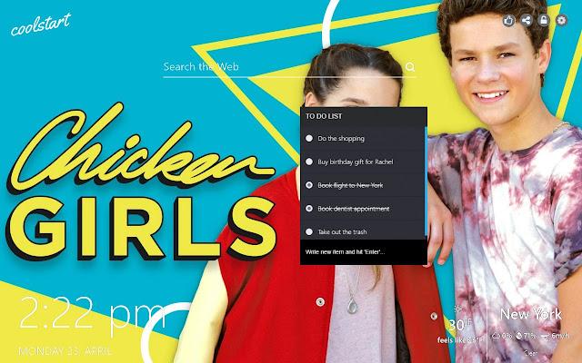 Chicken Girls Hd Wallpapers Tv Series Theme