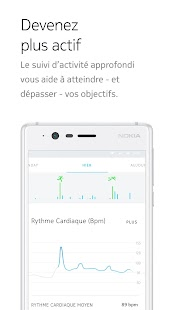 Nokia Health Mate Capture d'écran