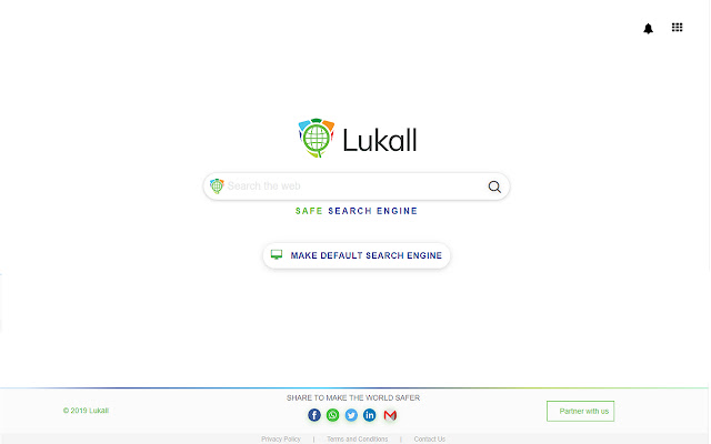 Safe Search Engine - Lukall