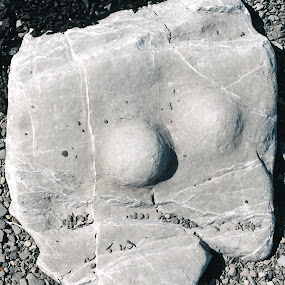Kilve Beach Babe by Gordon Coldwell - Artistic Objects Other Objects