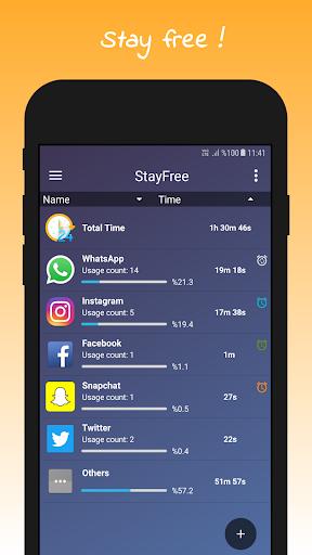 StayFree - Phone Usage Tracker & Overuse Reminder 3.0.6 screenshots 1