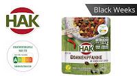 Angebot für Black Weeks:                                                                   HAK Fertiggerichte Bohnenpfanne im Supermarkt