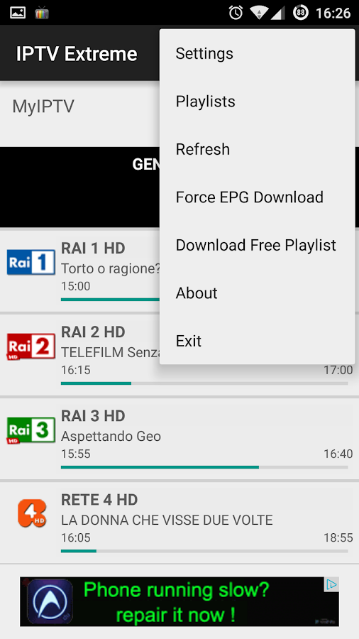 Iptv Extreme Android Apps On Google Play