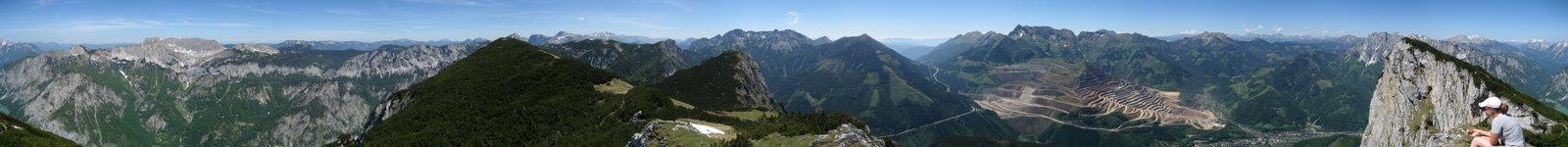 Photo: 360° Blick vom Pfaffenstein