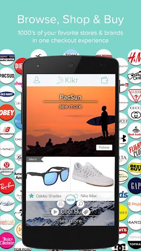 Kikr Social Shopping Rewards