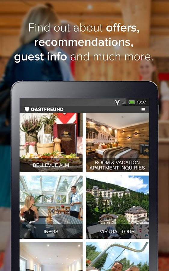 Gastfreund: hotel app, concierge, travel guide- screenshot