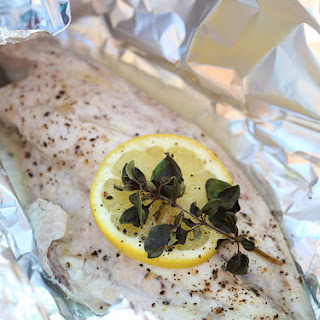 Easy Grilled Fish Fillet in Foil Packets.