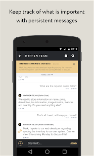Hyphen - Team Messaging- screenshot thumbnail