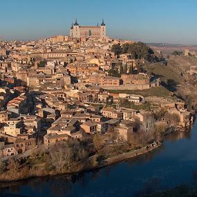 Toledo by Dorian Radu - City,  Street & Park  Skylines ( toledo, lanscape, spain, pwcskylines )