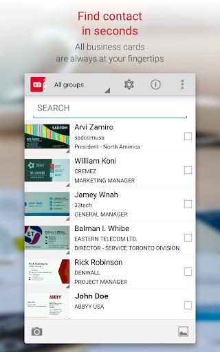 Business Card Reader Pro - Business Card Scanner  screenshots 13