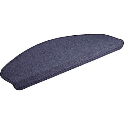 Коврик на ступеньку Vortex сине-серый 25х65