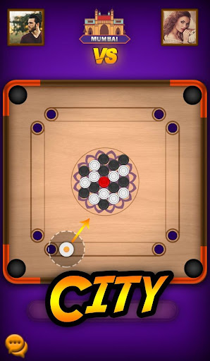 Carrom Play - Carrom Board Pool Game  screenshots 1