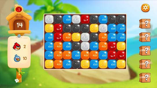 Angry Birds Blast Island Apk Mod Muitos Movimentos 6