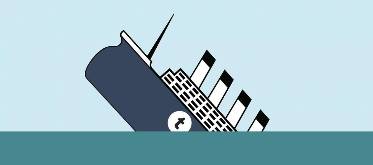 Tumblr- the sinking ship ( source: The Week )