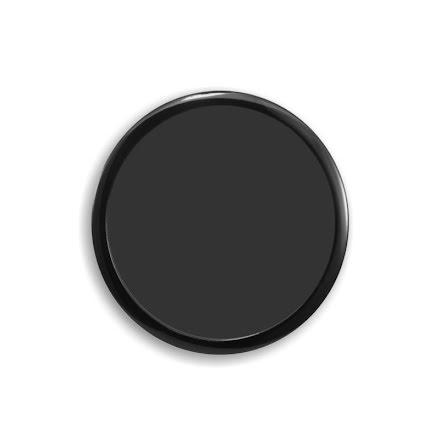 DEMCiflex magnetisk filter 250mm, rund, sort