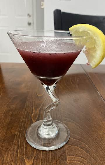 Delightful Blueberry Cosmo