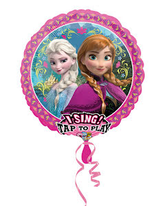 Folieballong Frost, sjungande