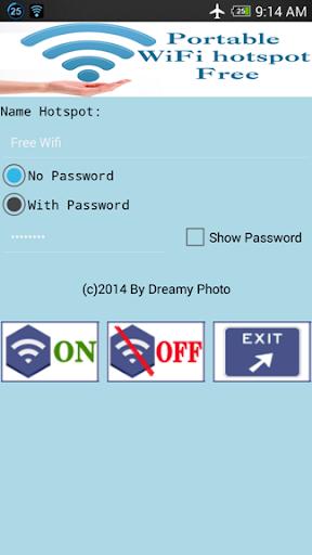 Portable Wifi Hotspot Free
