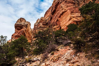 Photo: South Kaibab Trail down the South Rim of Grand Canyon National Park, Arizona, USA