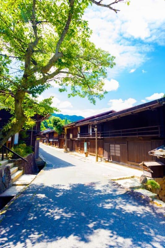 中山道にある魅力的なたくさんの宿