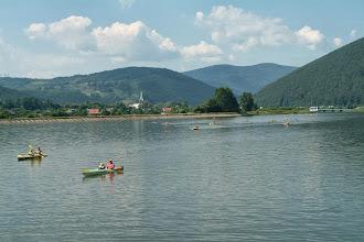 Photo: Dopływamy do zapory w Czańcu