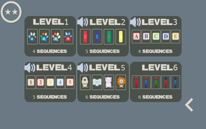 Скриншот Мозговая последовательность