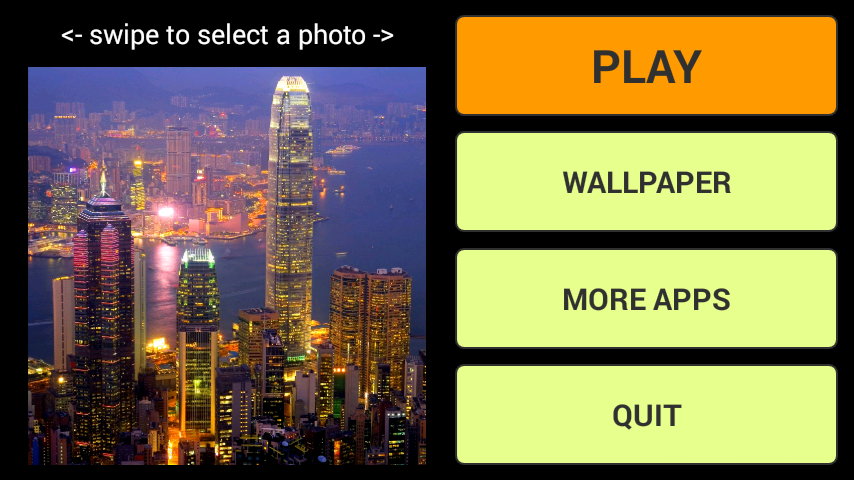 android City LWP + Jigsaw Puzzle Screenshot 0