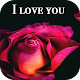 Flowers Roses and I love you images 4k Gif APK