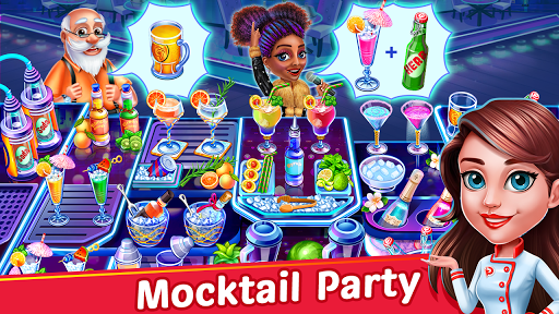 Cooking Party: Restaurant Craze Chef Fever Games apkpoly screenshots 8
