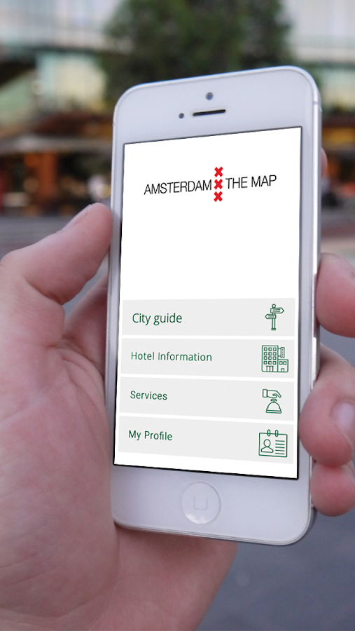Amsterdam The Map- screenshot