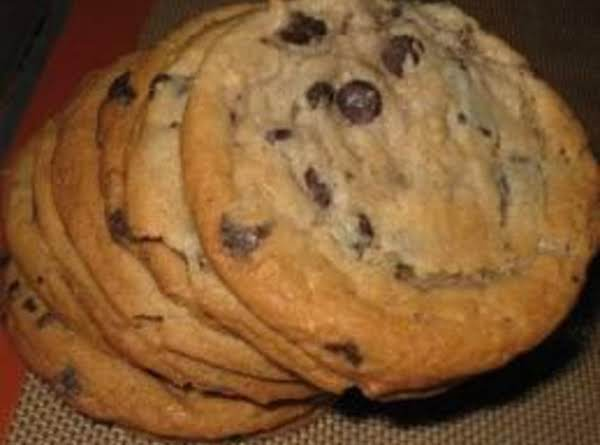 Chewy Jumbo Chocolate Chip Cookies Recipe