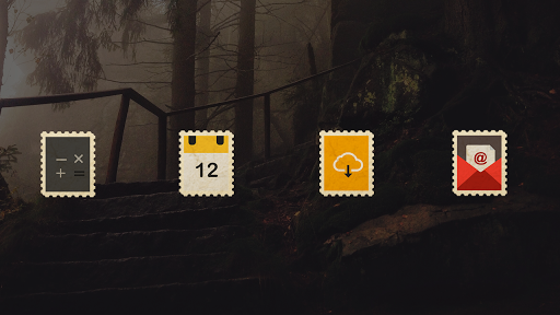 Postamp - Icon Pack app (apk) free download for Android/PC/Windows screenshot