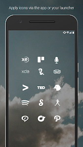 Flight Lite - Minimalist Icons screenshot 4