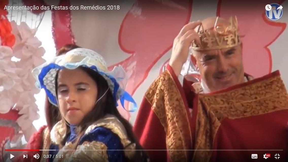 Vídeo - Apresentação das Festas dos Remédios 2018