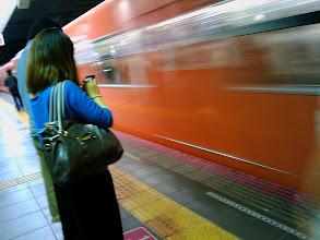 Photo: Osaka subway