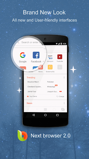 Next Browser - Fast & Private app (apk) free download for Android/PC/Windows screenshot