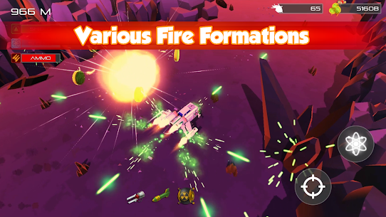 NeoArk – Retro Jet Fighter Plane Alien Shooter Apk  Download For Android 2